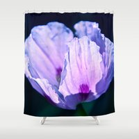 poppy Shower Curtains featuring Poppy by CrismanArt