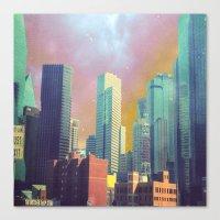 dallas Canvas Prints featuring Dallas Ya'll by Lynsey Ledray