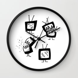 Weapons of Mass Distraction Wall Clock
