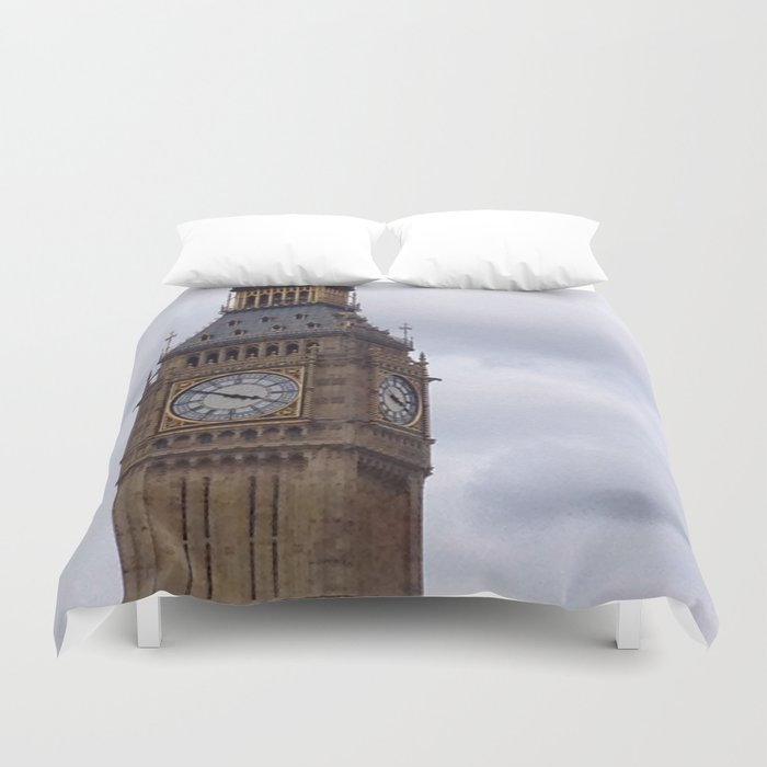 Golden Three Fifty Duvet Cover