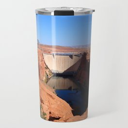 Glen Canyon Dam And Colorado River Travel Mug