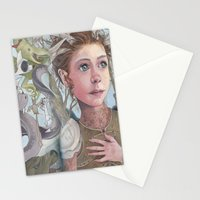 Horns and Armor Stationery Cards