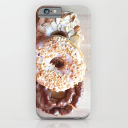 Donuts #food iPhone Case