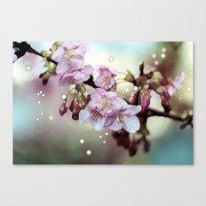 Cherry Blossom Dawn Canvas Print