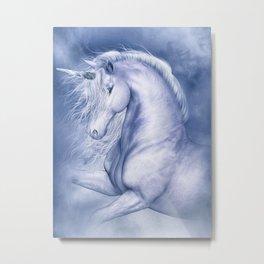 Blue Fantasia Metal Print