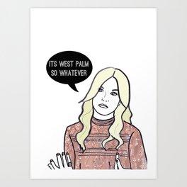West Palm Art Print