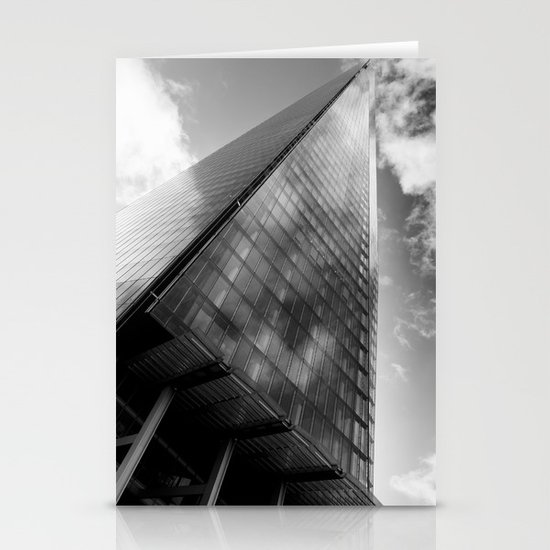 The Leaning Shard Of London  Stationery Cards
