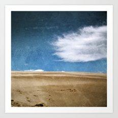 Le périple du nuage Art Print