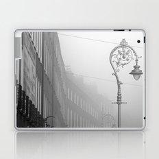 Dublin street lamp in the fog Laptop & iPad Skin