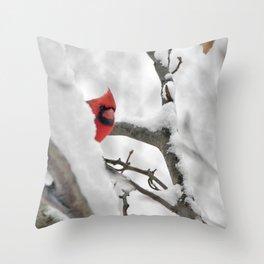 The flirt Throw Pillow