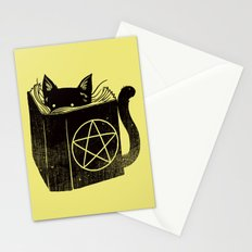 Witchcraft Cat Stationery Cards