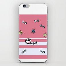 eyes stripe_girl iPhone & iPod Skin