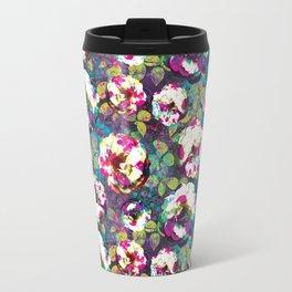 Paintsplat floral Travel Mug