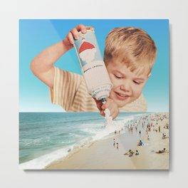 It's the same boy who puts snow on mountaintops Metal Print