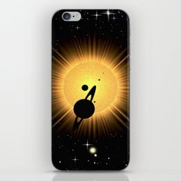 EXTRA - SOLAR ECLIPSE. Gliese 1002. iPhone Skin