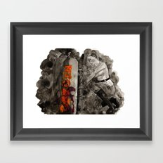 Incoming Zombies Framed Art Print
