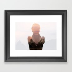 Insideout 6. Naked Nature Framed Art Print