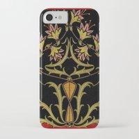 art nouveau iPhone & iPod Cases featuring art nouveau by Ariadne