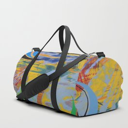 Something Lurks Below Duffle Bag
