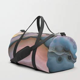 Pink and Blue agate 0425 Duffle Bag