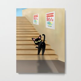 Go upwards Metal Print