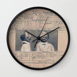 Arrest Wall Clocks For Any Decor Style Society6