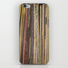 Records iPhone & iPod Skin