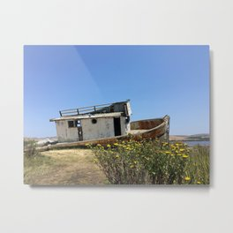 SHIPWRECK II Metal Print