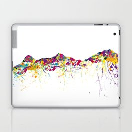 Eiger/Mönch/Jungfrau SWISS mountainsplash Laptop & iPad Skin