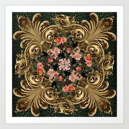 Baroque Briar Art Print