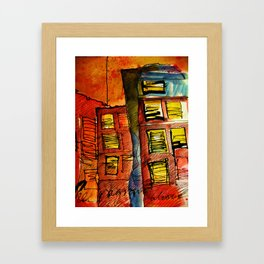 A VAGRANT ALCOVE - JEAN LOUIS MORAY  Framed Art Print