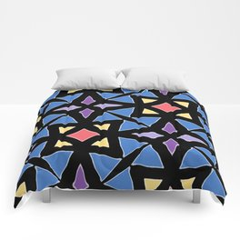 Stained Glass Color Pattern Art Comforters