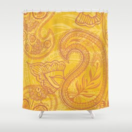 Paisley Juice Shower Curtain