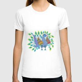 Dancing Peacock T-shirt