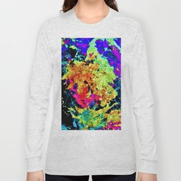 Colorful Abstract Painting Long Sleeve T-shirt