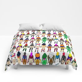 Superheroine Butts Comforters