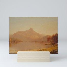 Sanford Robinson Gifford - An October Afternoon Mini Art Print