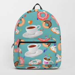 Coffee and Doughnuts Backpack