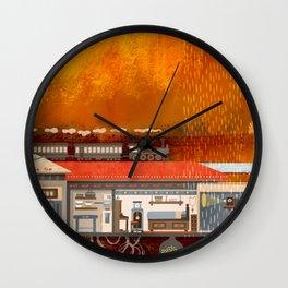 Buendía Wall Clock