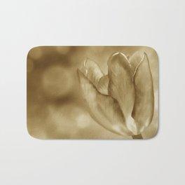 Tulip (Sepia) Bath Mat