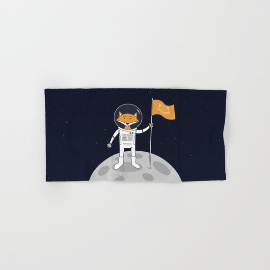 The Fox on the Moon Hand & Bath Towel
