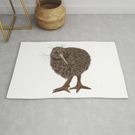 Charming Kiwi bird Rug