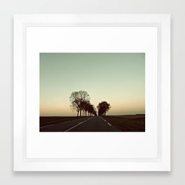 There is this undiscovered space, 1 Framed Art Print