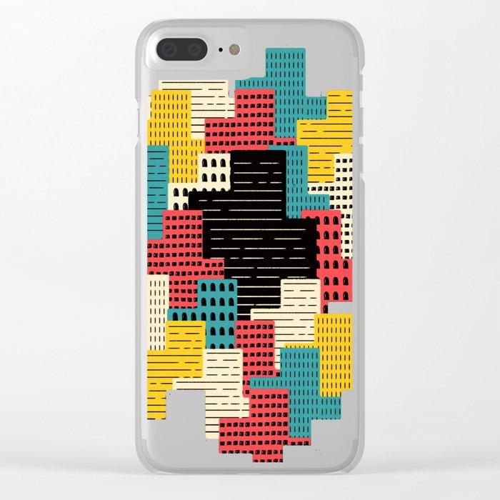 Buildingburgh Clear iPhone Case