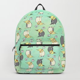 Confused Cockatiel - Pattern Backpack