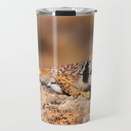Great Basin Collared Lizard - Burr Trail, Utah Travel Mug