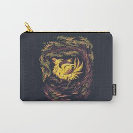 Chocobo with Blossoms Carry-All Pouch