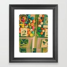 goody goody gumball! Framed Art Print
