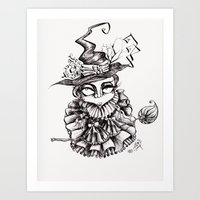 oz Art Prints featuring Oz by artlandofme