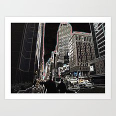 Urbanization Art Print